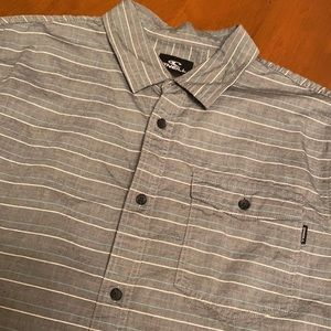 O'Neill men's medium button down shirt